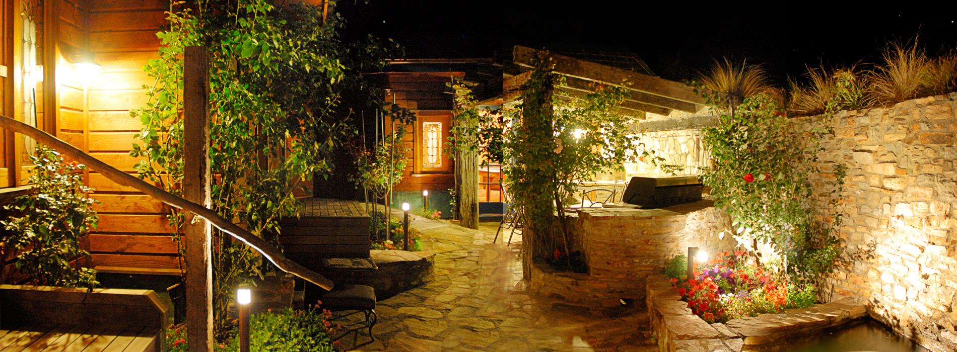 Lumipro focos para jardin iluminaci n de exterior for Jardines pequenos con luces