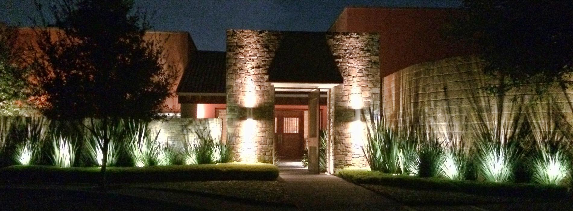 lumipro focos para jardin iluminaci n de exterior On luminarias para jardines exteriores