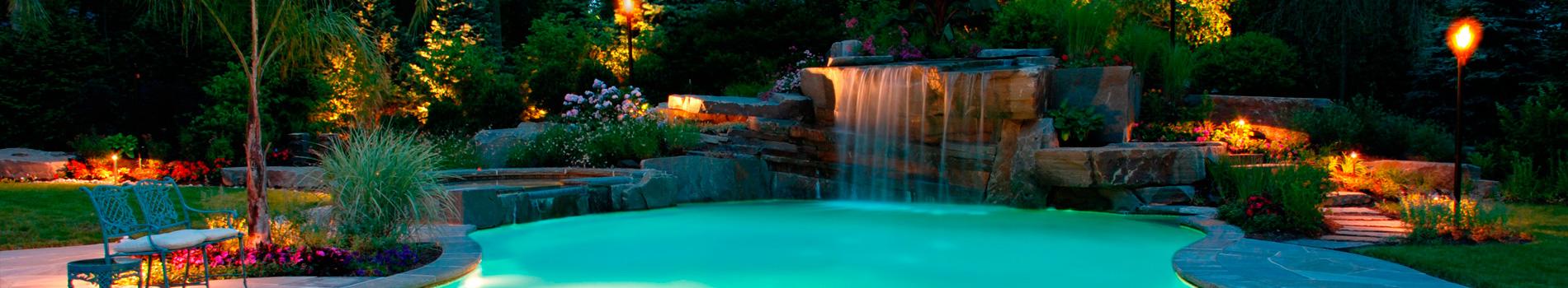 Diseno de jardines exteriores related keywords diseno de - Iluminacion de jardin ...